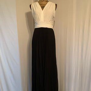 Brand New Maxi Black & White Dress